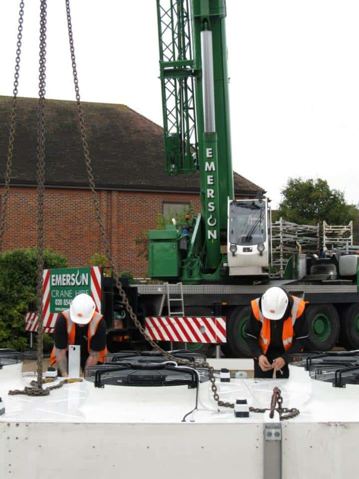 100 Ton All Terrain Crane Hire