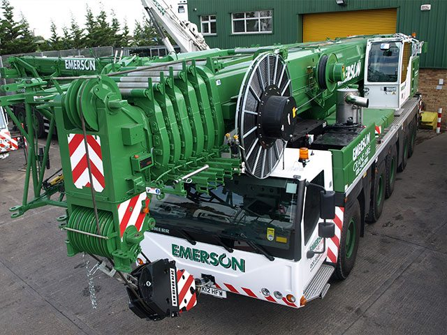 200T Heavy All Terrain Crane