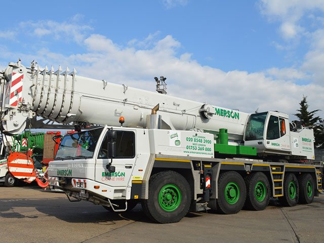 220T Heavy All Terrain Crane