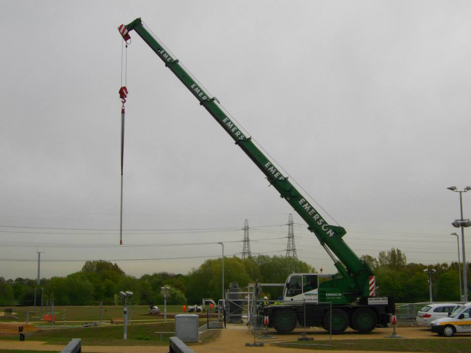 40T City Crane