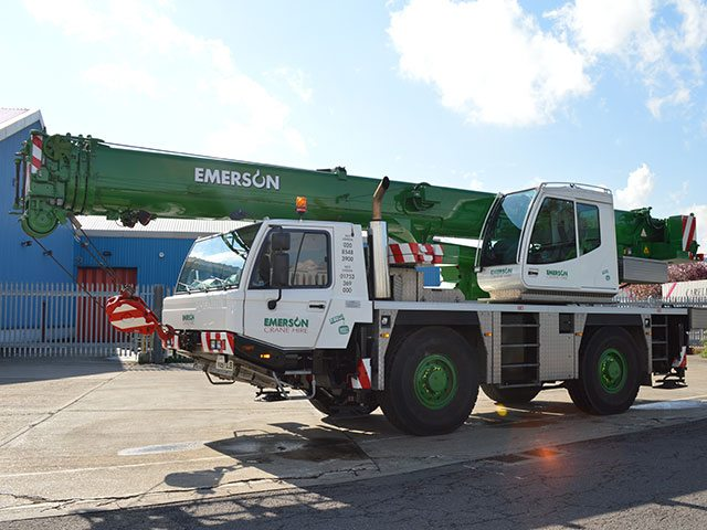 40T All Terrain Crane Hire