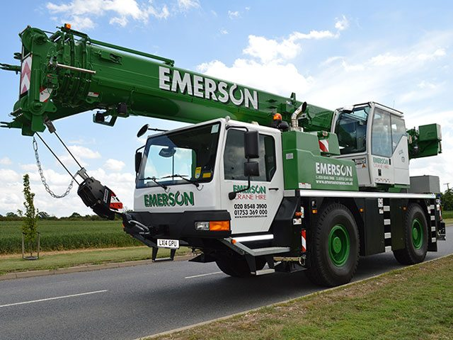 40T All Terrain Crane London