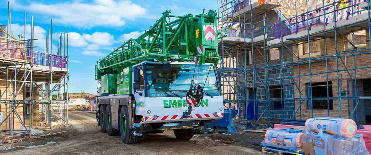 Crane Hire For Construction Sites