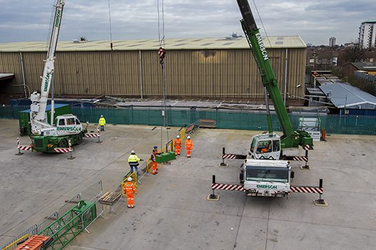 Training Provided by Emerson Cranes