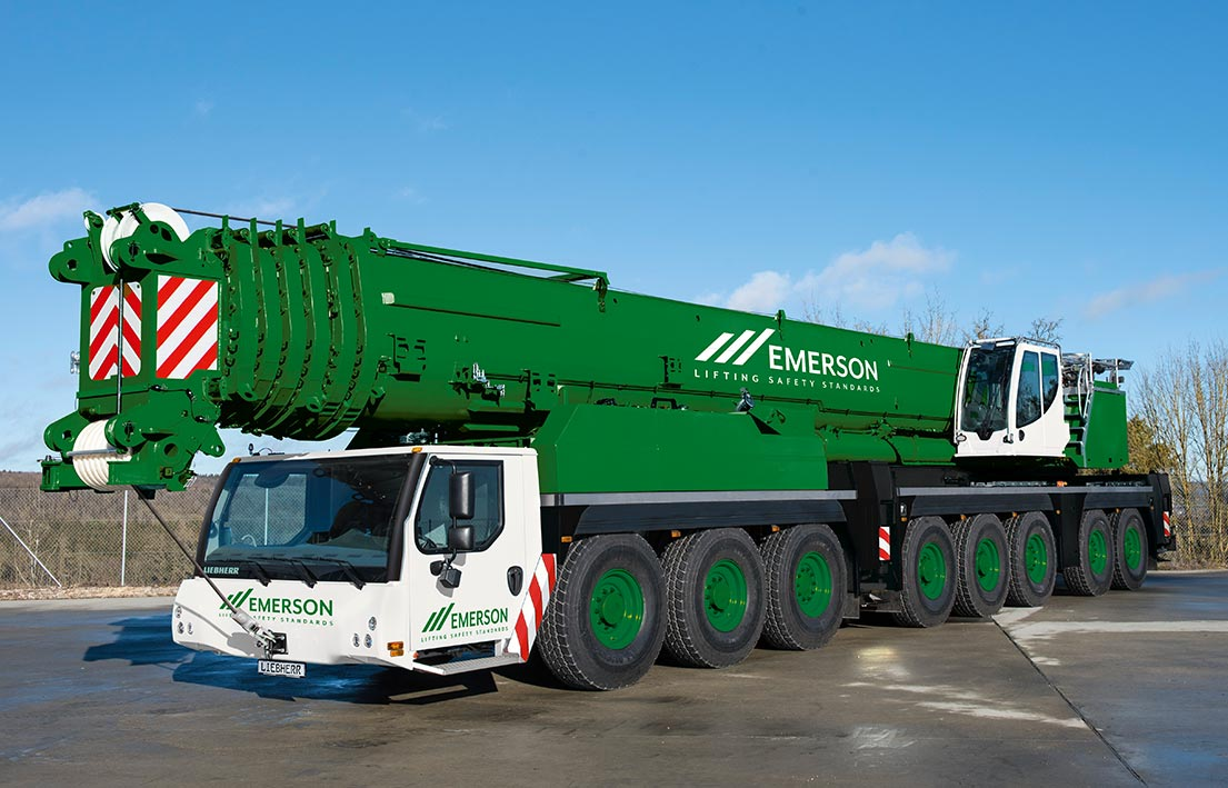 450T Heavy All Terrain Crane