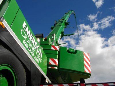 crane boom deflection