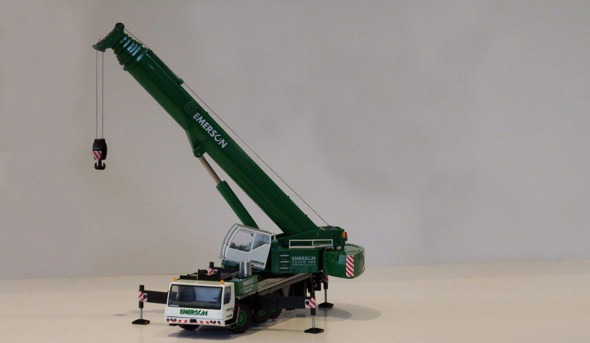 Win A Model Crane