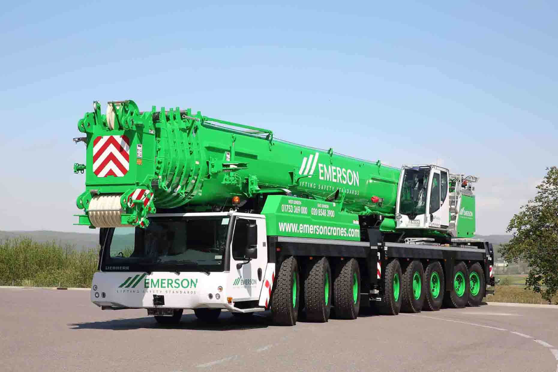 Heavy All Terrain Crane Hire
