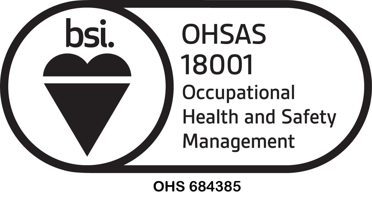 BSI Assurance Mark-OHS-18001-KEYB